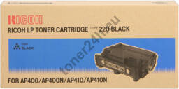 Oryginalny Toner Ricoh Type 220 Black (400943) Ricoh LP Toner Cartridge Type 220 Black